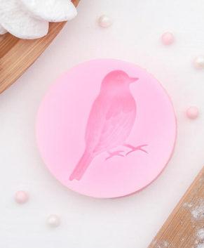 Молд силиконовый Птичка