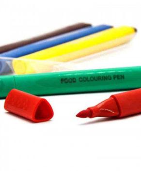 Набор маркеров для украшения десертов, 5 шт