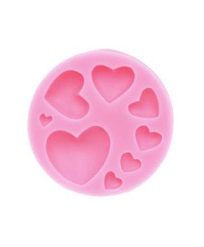 Молд силиконовый Сердечки