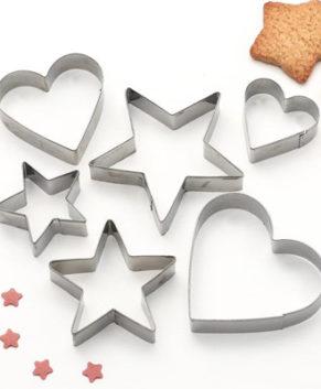 Набор вырубок Сердце/Звезда
