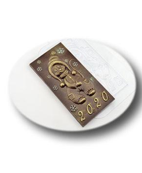 Пластиковая форма для шоколада Мышь 2020