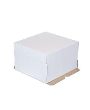 Коробка для торта 30х30х19см,гофрокартон
