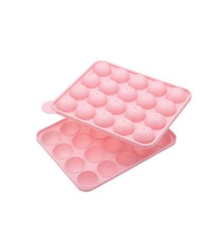 Форма силиконовая для кейкпопсов, 20 ячеек