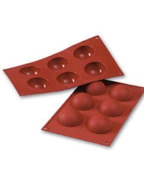 Форма силиконовая Полусфера 7см, 6 ячеек