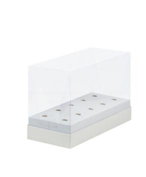 Коробка под кейк-попсы с пластиковой крышкой, 24х11х16см