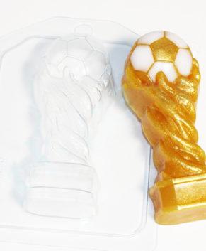 Пластиковая форма для шоколада Кубок футбольный