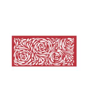 Трафарет пластиковый для торта Розы