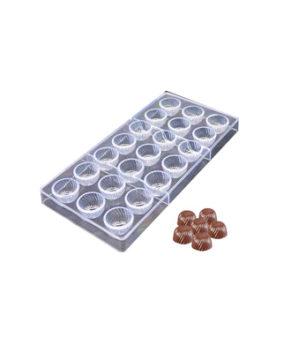 Пластиковая форма для шоколадных конфет