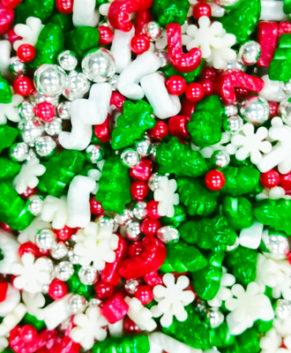 Посыпка кондитерская Рождество 3D, 40гр