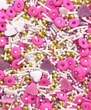 Посыпка кондитерская MIXIE Моя розовая мечта, 50гр