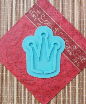 Молд силиконовый Корона-Топпер