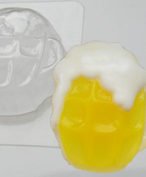 Пластиковая форма для шоколада, Кружка пива