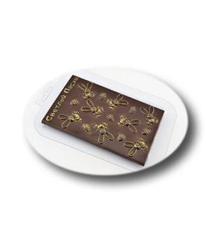 Пластиковая форма для шоколада, Плитка Светлой Пасхи