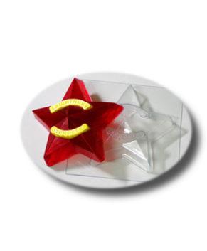 Пластиковая форма для шоколада, Звезда Защитнику Отечества