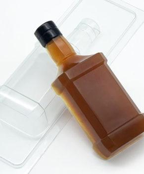 Пластиковая форма для шоколада Виски
