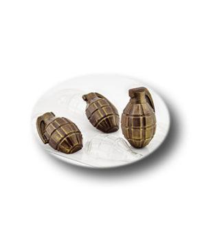 Пластиковая форма для шоколада, Лимонка двойная