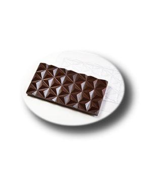 Пластиковая форма для шоколада, Плитка Пирамидки
