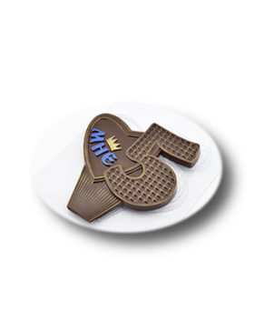 Пластиковая форма для шоколада, Мне 5 лет