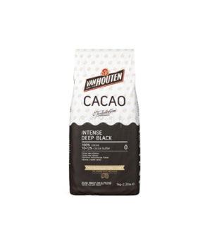 Какао порошок Чёрный Intense Deep Black Van Houten (10-12%), 100гр