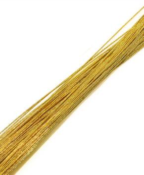Проволока золотая D=0,7 мм (№22)10 шт