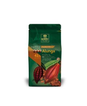 Шоколад молочный Cacao Barry ALUNGA (41% какао)