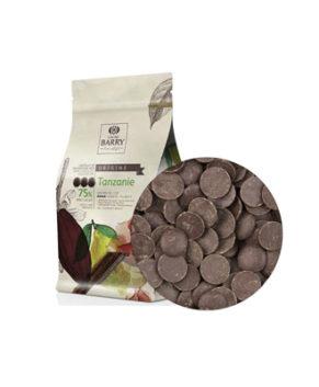 Шоколад тёмный Cacao Barry Tanzania (75% какао)