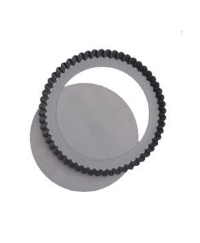 Форма для выпечки со съемным дном, Рифленый круг, 28см