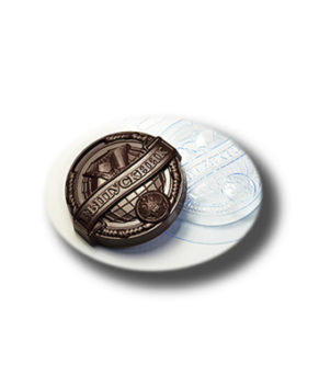 Пластиковая форма для шоколада Медаль выпускник