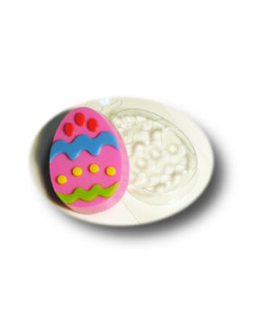 Пластиковая форма для шоколада Яйцо с узором