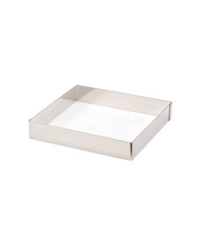 Форма квадратная для тарта 15х15см H 3см