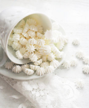 Сахарная фигурка Мини-безе белые, 50гр