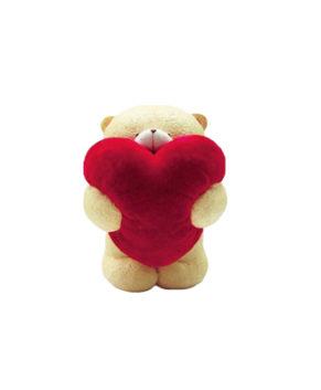 Молд силиконовый 3D Мишка с сердечком
