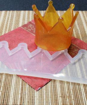 Молд силиконовый Корона большая №2