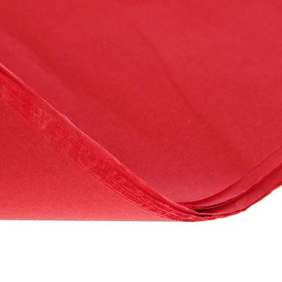Упаковочная бумага Тишью красная