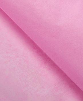 Бумага упаковочная Тишью, Розовая 10 листов
