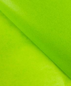 Бумага упаковочная Тишью, Зелёная 10 листов
