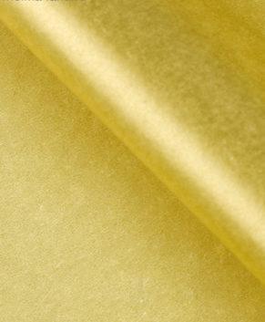 Бумага упаковочная Тишью, Золотая 10 листов