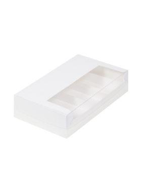 Коробка для эскимо с окном и ложементами, 25х15х5см