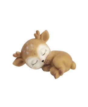 Молд силиконовый Оленёнок спит на боку №2