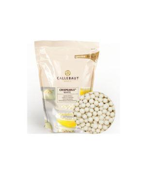 Шоколадные хрустящие шарики Crispearls Белые Callebaut, 70гр