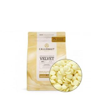 Шоколад белый Barry Callebaut VELVET в галетах (32% какао)