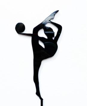 Топпер Гимнастка, черный