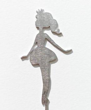 Топпер Принцесса, серебро