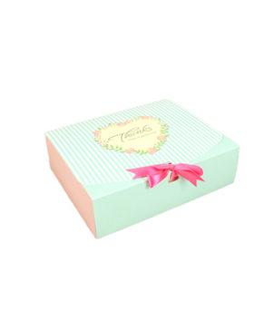 Коробка для кондитерских изделий 23 х11,5х5см с ленточкой