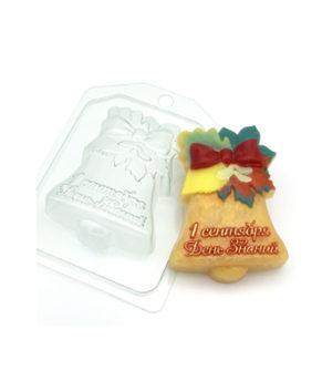 Пластиковая форма для шоколада Колокольчик 1 сентября