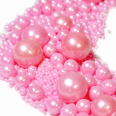 Посыпка шарики Розовые Ассорти