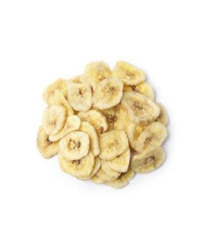 Сублимированный банан слайсы, 30 гр