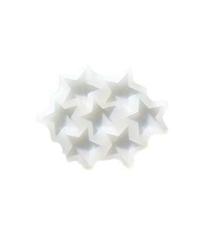Молд силиконовый Звезды 3,5 см, 7ячеек