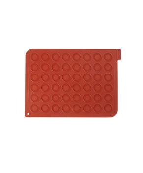 Силиконовый коврик для макарон Silikomart 40×30 см