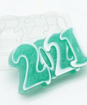 Пластиковая форма для шоколада 2021